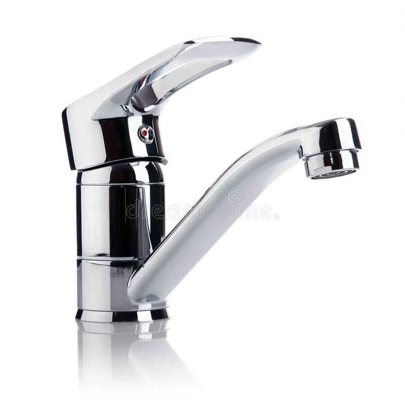 Mélangeur de robinet d'approvisionnement en eau image stock