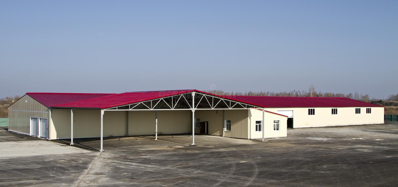 Mémoire de hangar photos libres de droits