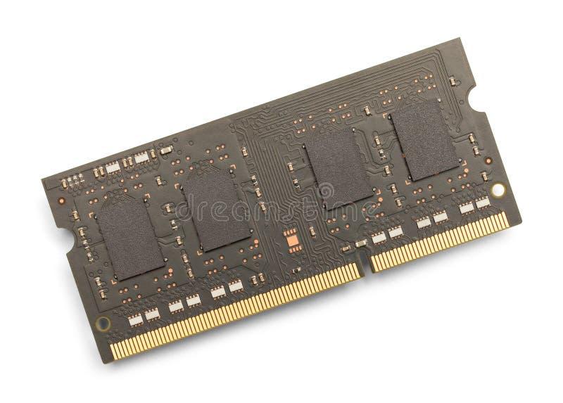 Mémoire de l'ordinateur photos stock