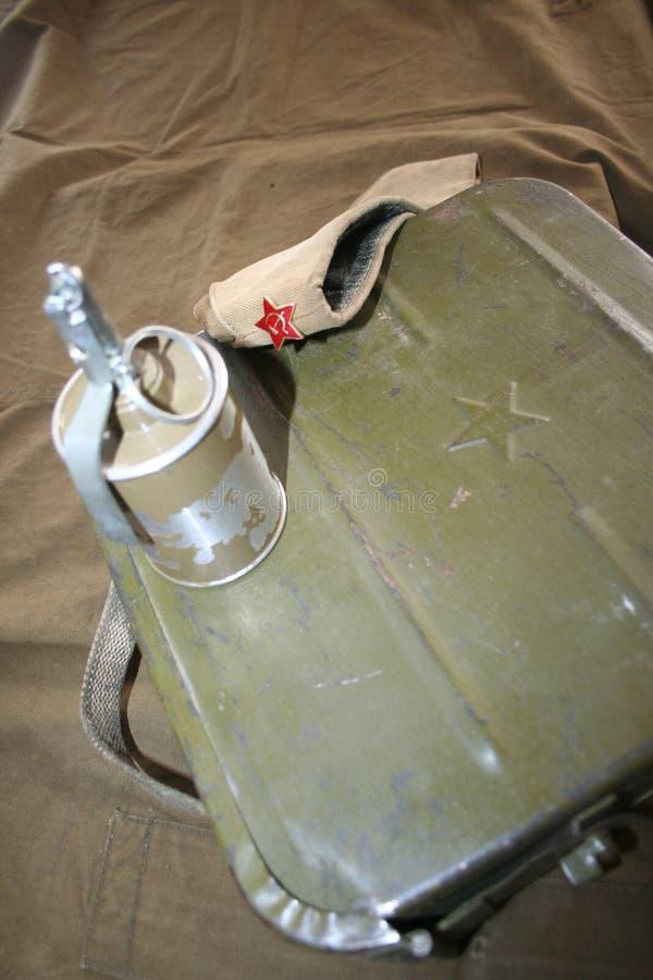 Mémoire de la terre afghane et de l'armée 40 soviétique illustration de vecteur