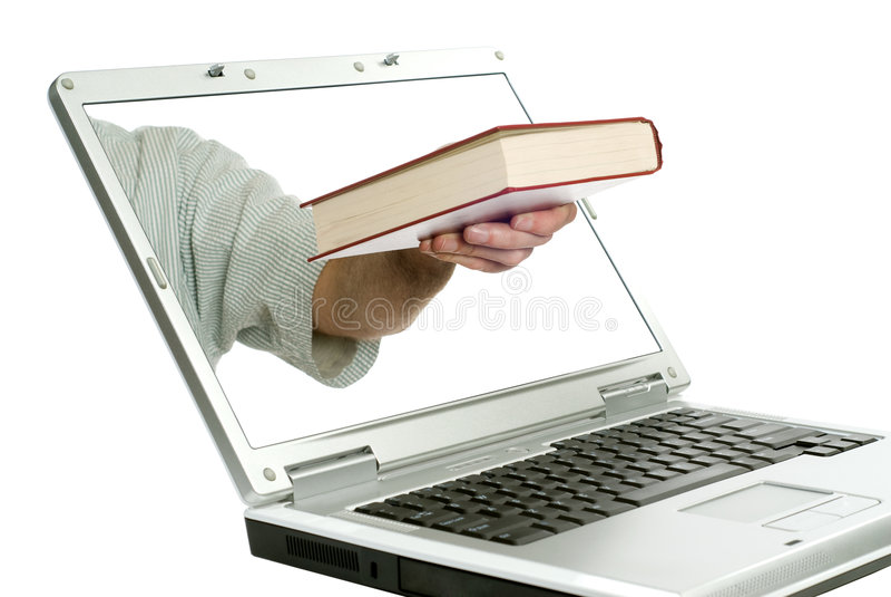 mémoire en ligne de livre images stock