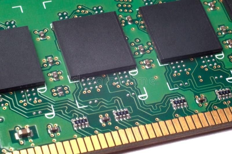 Mémoire RAM électronique de module image libre de droits