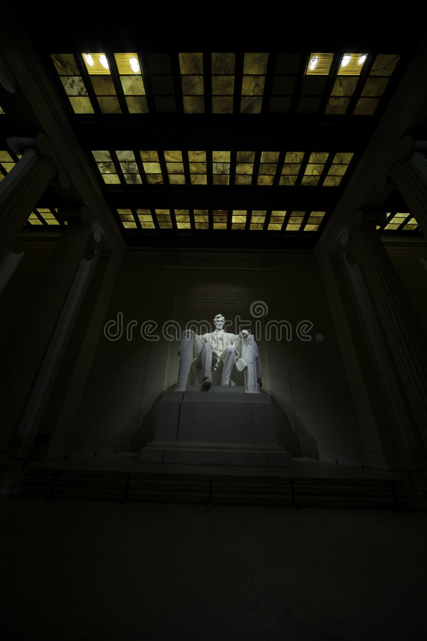 Mémorial 2 de Lincoln photo stock