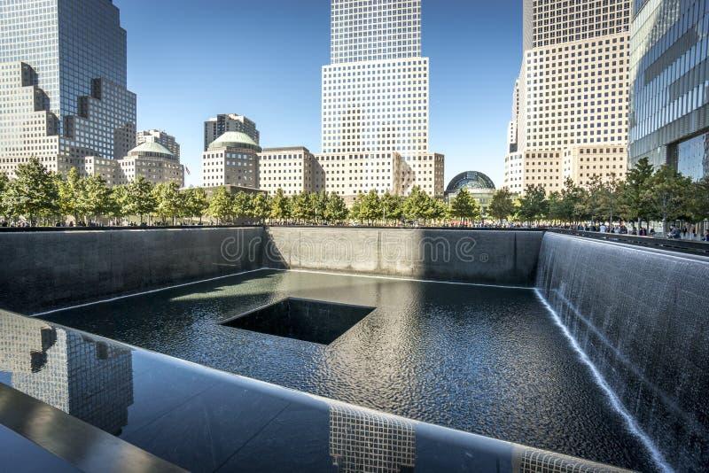 Mémorial 911 photos stock