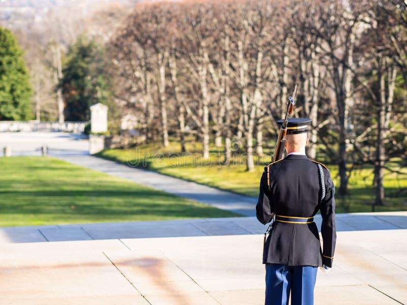 Mémorial au soldat inconnu image libre de droits