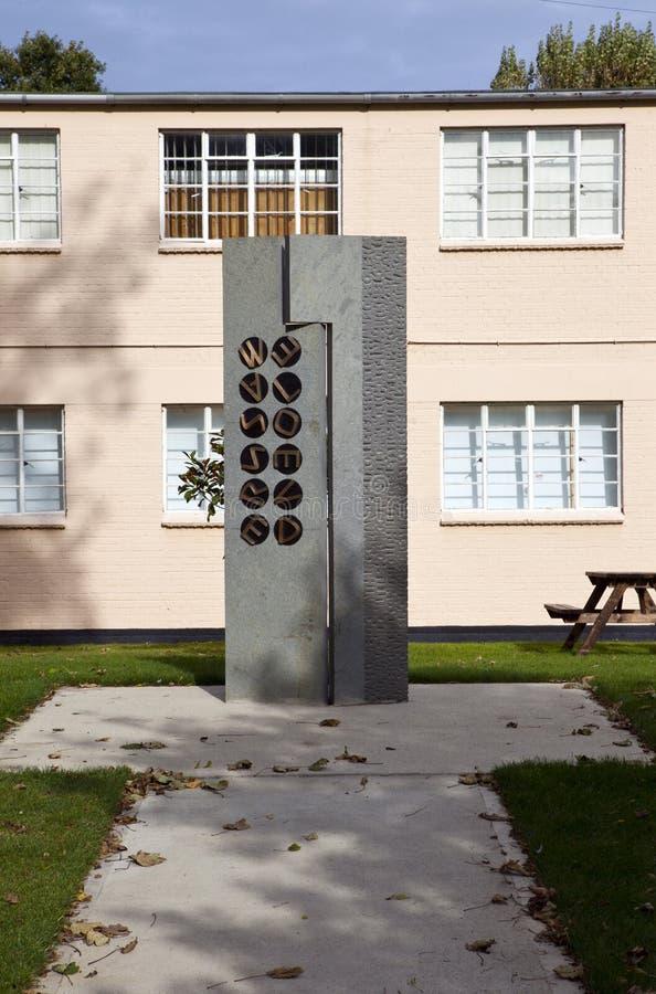 Mémorial au stationnement de Bletchley photographie stock libre de droits