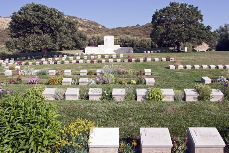 Mémorial aux champs de bataille de Gallipoli en Turquie photo stock