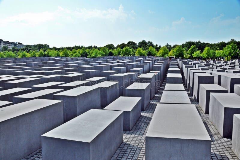 Mémorial aux juifs assassinés de l'Europe #2 images stock