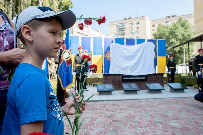 Mémorial aux soldats de la garde nationale photos stock