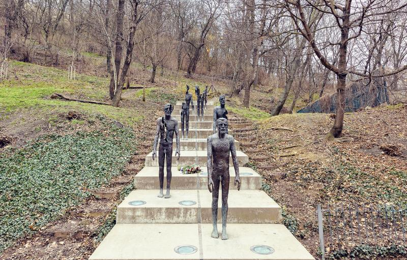 Mémorial aux victimes du communisme photos libres de droits