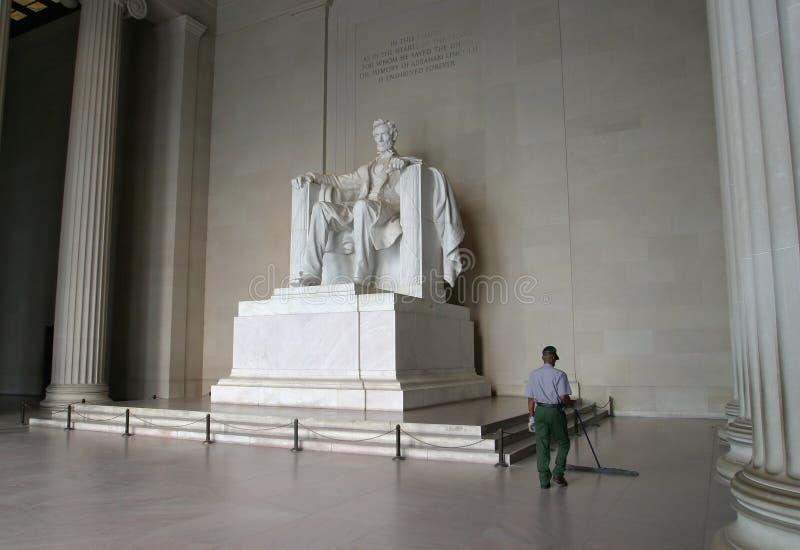 Mémorial d'Abraham Lincoln images libres de droits