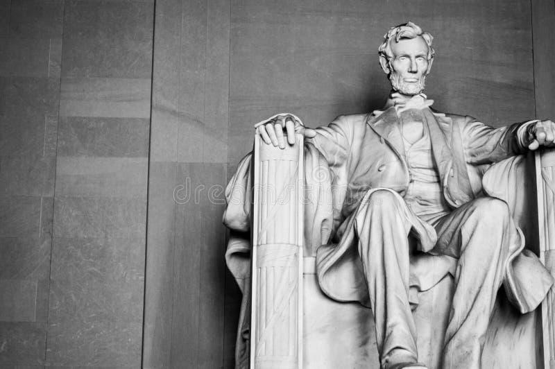 Mémorial d'Abraham Lincoln dans le Washington DC photographie stock libre de droits