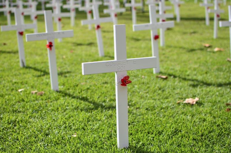 Mémorial d'Anzac Day photos libres de droits