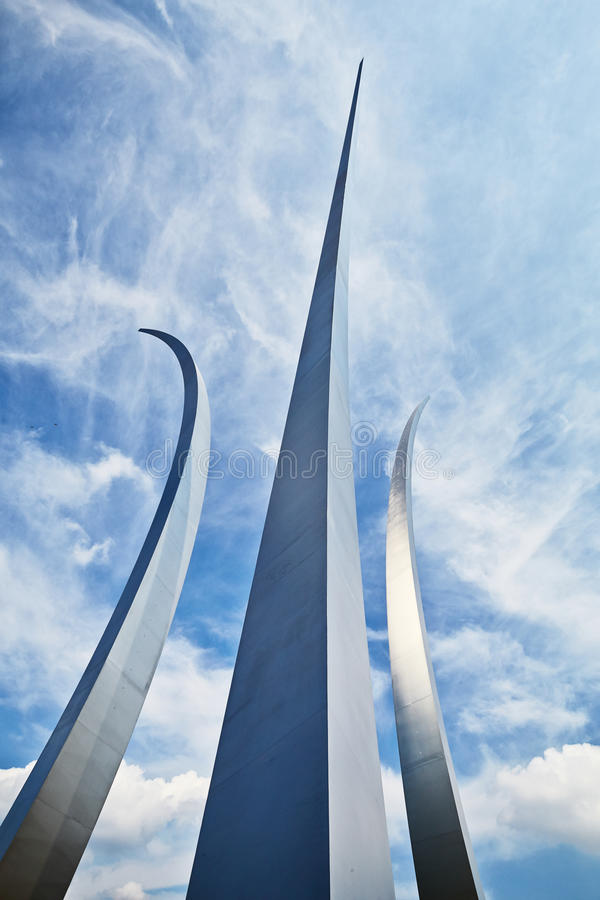 Mémorial d'armée de l'air photo stock