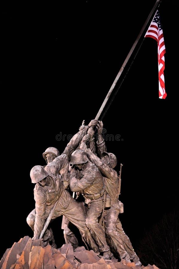 Mémorial d'Iwo Jima photos stock