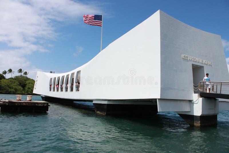 Mémorial d'USS Arizona photo libre de droits