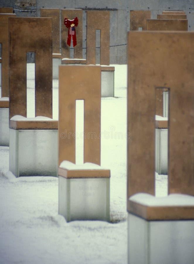 Mémorial de bombardement de Ville d'Oklahoma photo stock