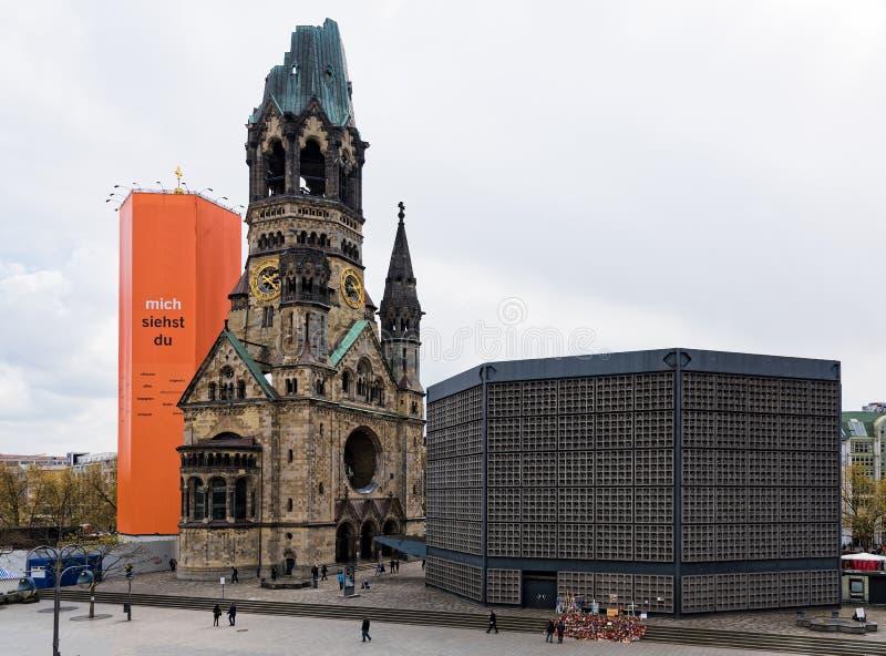 Mémorial de guerre à Berlin images libres de droits