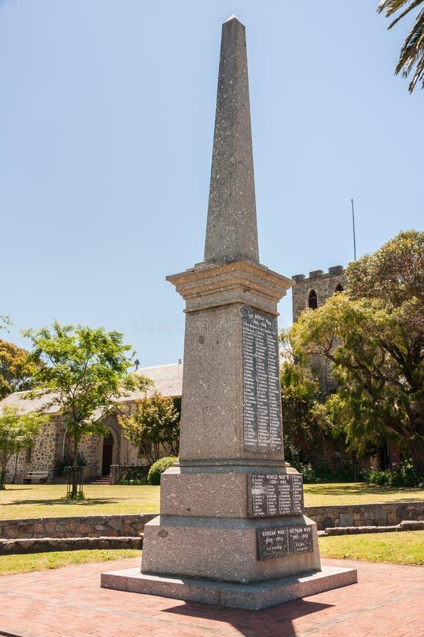 Mémorial de guerre d'Albany, Australie image libre de droits