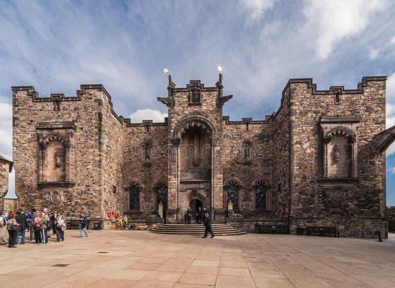 Mémorial de guerre national écossais au château, Edimbourg, Ecosse images stock