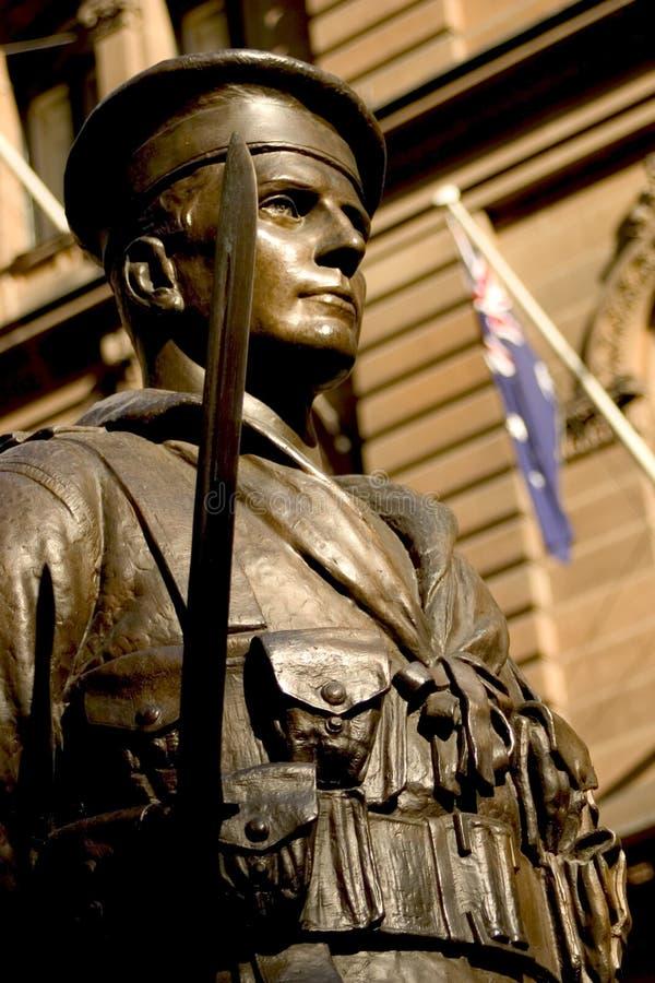 Mémorial de guerre, Sydney image stock