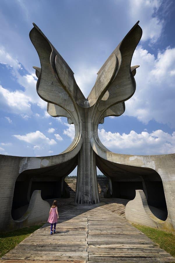 Mémorial de Jasenovac WWII photos libres de droits