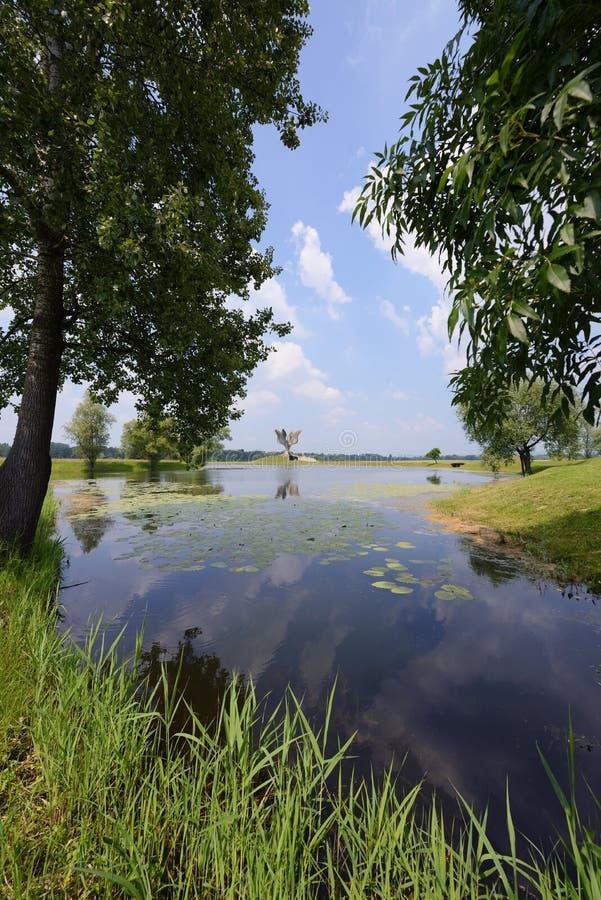 Mémorial de Jasenovac WWII, Croatie photographie stock libre de droits