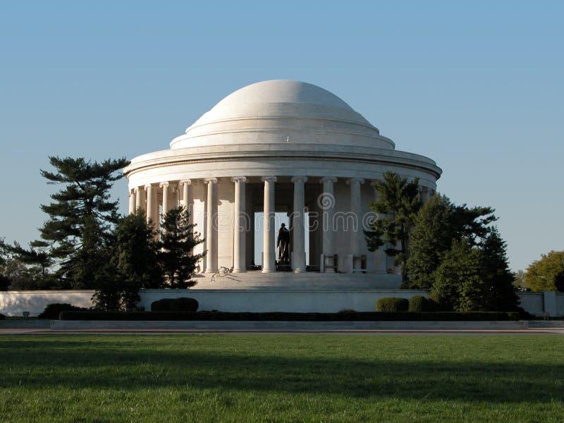 Mémorial de Jefferson - C.C photographie stock