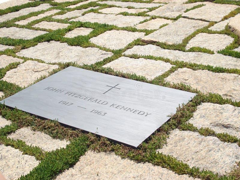 Mémorial de JFK images libres de droits