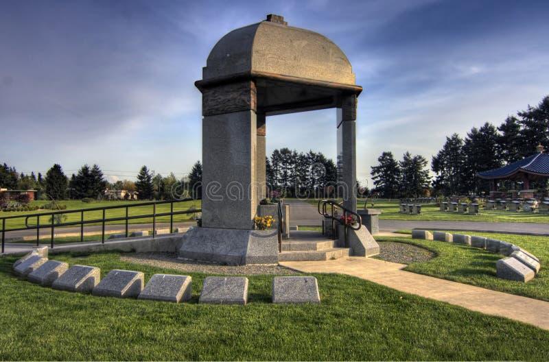Mémorial de Jimi Hendrix image libre de droits