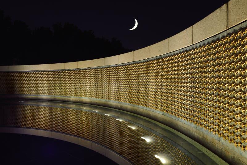 Mémorial de la deuxième guerre mondiale dans le Washington DC images stock
