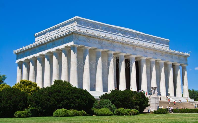 Mémorial de Lincoln images libres de droits