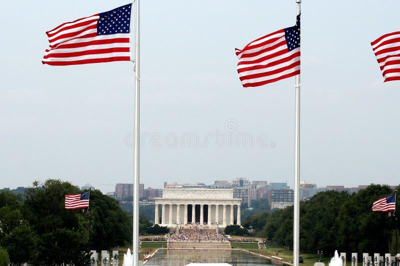 Mémorial de Lincoln photo libre de droits