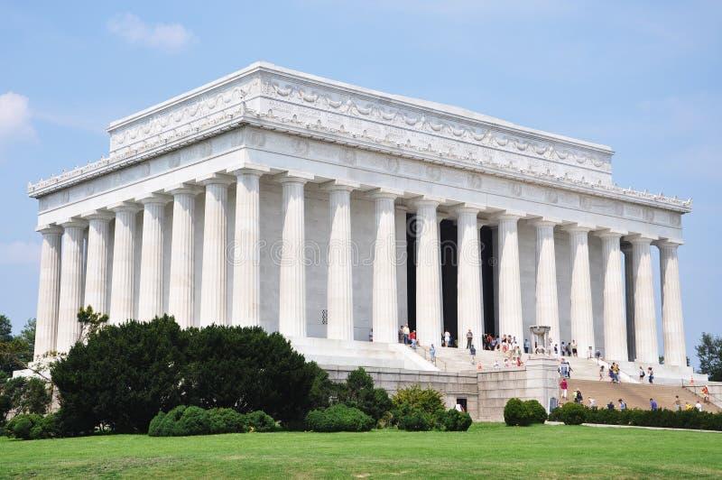 Mémorial de Lincoln, Washington DC photo stock