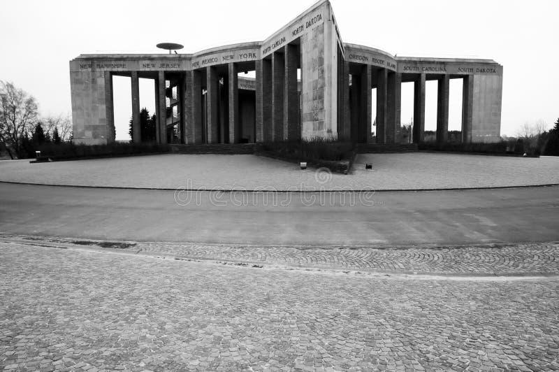 Mémorial de Mardasson - Belgique photos stock