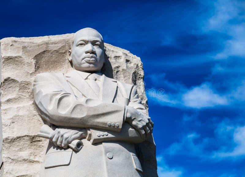 Mémorial de Martin Luther King images libres de droits