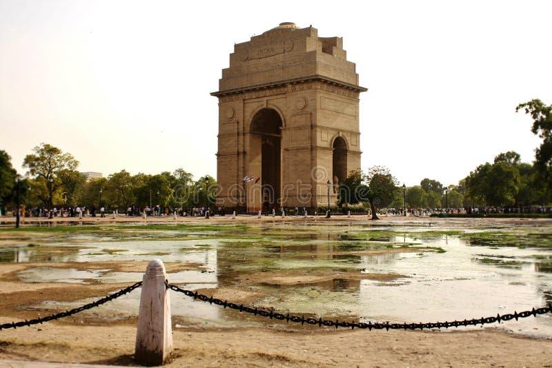 Mémorial de porte d'Inde photographie stock