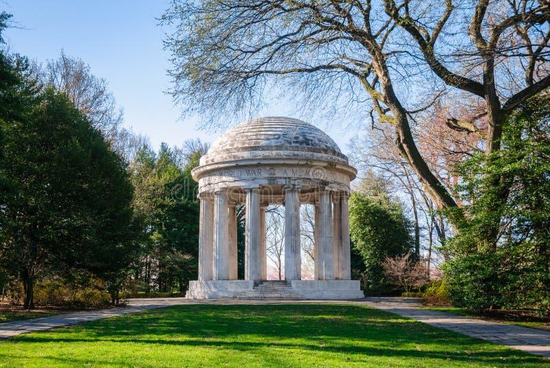Mémorial de Première Guerre Mondiale image libre de droits