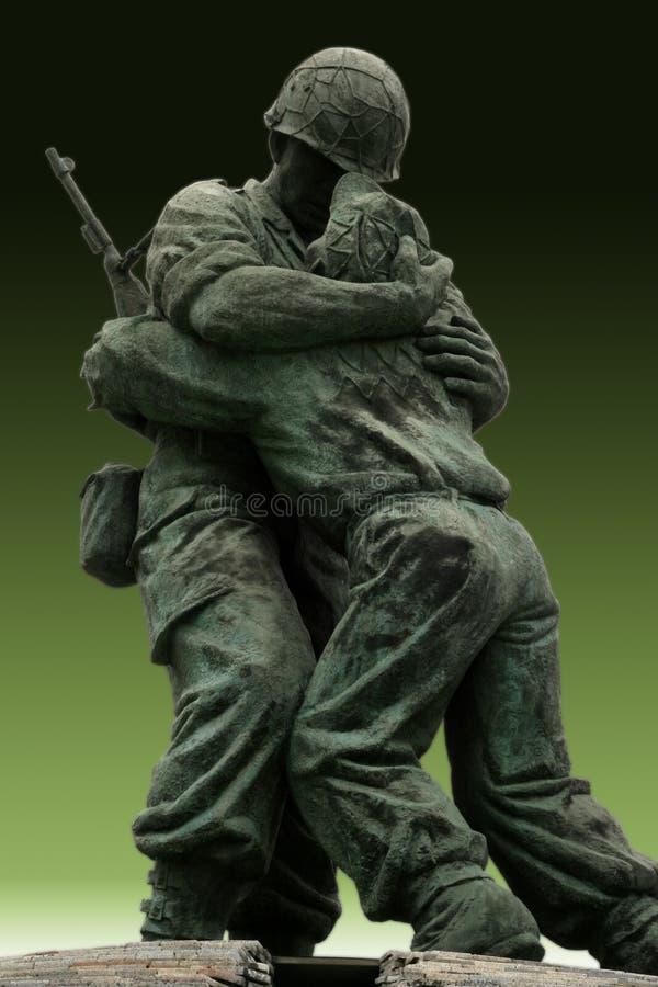 Mémorial de soldat inconnu photo stock