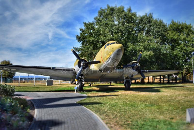 Mémorial de transport aérien de Francfort Berlin images libres de droits