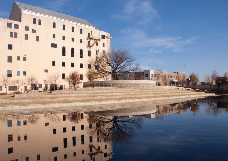 Mémorial de Ville d'Oklahoma photographie stock