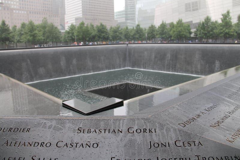 Mémorial de World Trade Center image stock