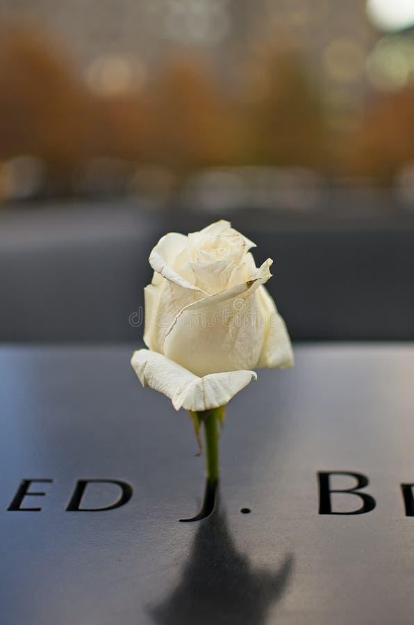 Mémorial de World Trade Center du ` s de New York photographie stock