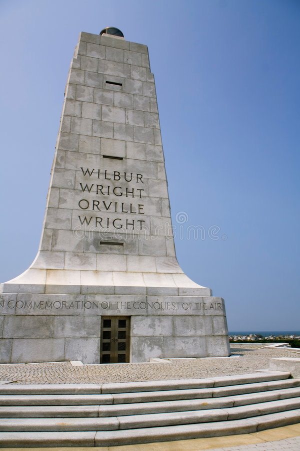 Mémorial de Wright photos libres de droits