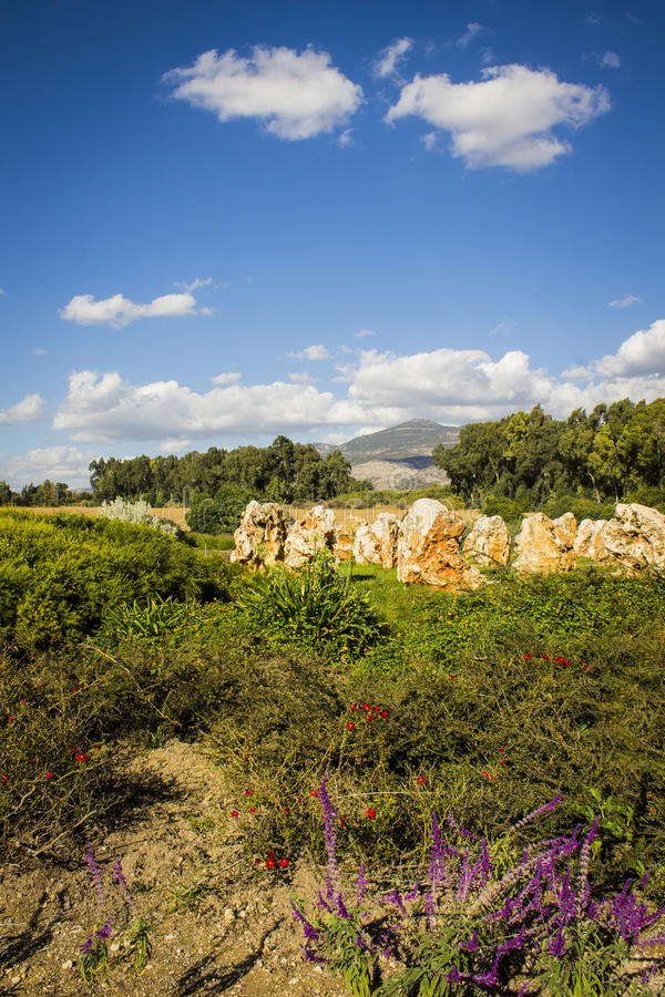 Mémorial de yashuv de She'ar image libre de droits