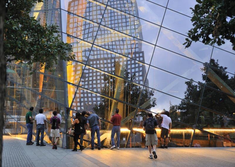 Mémorial du 11 septembre photographie stock libre de droits