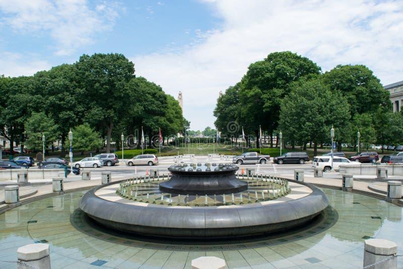 Mémorial du verger des soldats et des marins à Harrisburg, Pennsylvanie images libres de droits