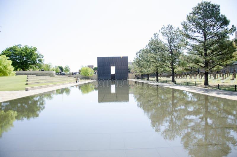 Mémorial et musée nationaux de Ville d'Oklahoma image stock