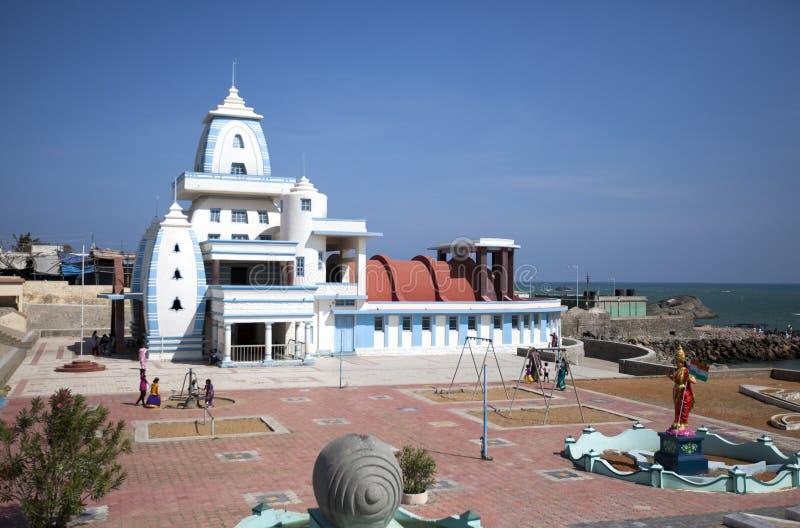 Mémorial Gandhi, Kanyakumari, Tamilnadu, Inde image libre de droits