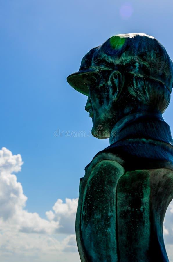 Mémorial national de frères de Wright images libres de droits